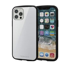 エレコム ELECOM iPhone 12/12 Pro 6.1インチ対応 ハイブリッドケース TOUGH SLIM LITE ホワイト
