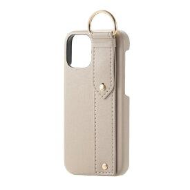 エレコム ELECOM iPhone 12 mini 5.4インチ対応 レザーケース オープン RICERCA(Coronet) ベージュ