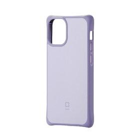 エレコム iPhone 12 mini 5.4インチ対応 ハイブリッドケース finch スッキリホールド パープル