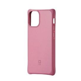 エレコム ELECOM iPhone 12 mini 5.4インチ対応 ハイブリッドケース finch スッキリホールド レッド