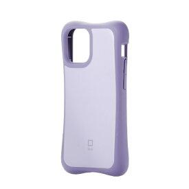 エレコム iPhone 12 mini 5.4インチ対応 ハイブリッドケース finch ピッタリホールド パープル