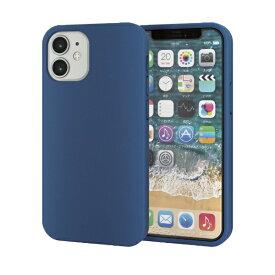 エレコム ELECOM iPhone 12 mini 5.4インチ対応 ハイブリッドケース 360度保護 ブルー