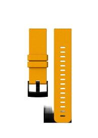 スント SUUNTO SUUNTO TRAVERSE AMBER SILICONE STRAP スント トラバース アンバー シリコン ストラップ SS021847000