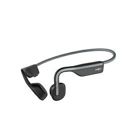 AfterShokz アフターショックス ブルートゥースイヤホン 耳かけ型 OpenMove Slate Grey AFT-EP-000022 [マイク対応 /骨伝導 /Bluetooth]
