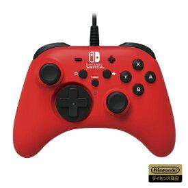 HORI ホリ ホリパッド for Nintendo Switch レッド NSW-156【Switch】 【代金引換配送不可】