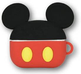 グルマンディーズ gourmandise AirPods Proシリコンケース ディズニーキャラクター ミッキーマウス DN760A