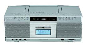 東芝 TOSHIBA CDラジカセ TY-AK2-S シルバー [Bluetooth対応 /ワイドFM対応 /ハイレゾ対応 /CDラジカセ]