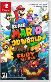 【2021年02月12日発売】 任天堂 Nintendo スーパーマリオ 3Dワールド + フューリーワールド[ニンテンドースイッチ ソフト]【Switch】