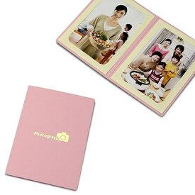山田屋写真用品 ポケット台紙 Photograph/カメラ L2面(タテ) ピンク PDO-PC-L2TPK