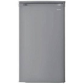 アイリスオーヤマ IRIS OHYAMA 前開き冷凍庫 グレー KUSD-6B-H [1ドア /60L]《基本設置料金セット》