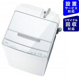 東芝 TOSHIBA 全自動洗濯機 ZABOON(ザブーン) グランホワイト AW-10SD9BK-W [洗濯10.0kg /乾燥機能無 /上開き]【point_rb】