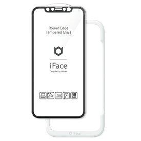 Hamee [iPhone 11/XR専用]iFace Round Edge Tempered Glass Screen Protector ラウンドエッジ強化ガラス 画面保護シート iFace ブラック 41-890271