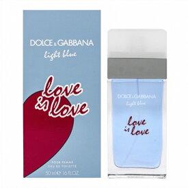 ドルチェ&ガッバーナ Dolce&Gabbana ドルチェ&ガッバーナ ライトブルー ラブ イズ ラブ オードトワレ 50ml