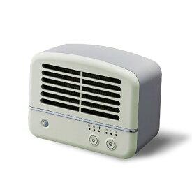 ドウシシャ DOSHISHA CHV061J-GR 人感センサー付セラミックヒーター グリーン [人感センサー付き]