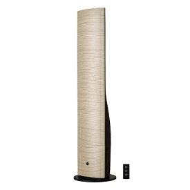 ドウシシャ DOSHISHA タワー型 ハイブリッド加湿器 ナチュラルウッド DKHV-3521-NWD [ハイブリッド(加熱+超音波)式 /OFFタイマー]