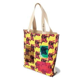 ROOTOTE タテ型 キャンバス トートバッグ アンディ・ウォーホル RO.トール.ポケット.Warhol-A ROOTOTE