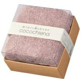 日繊商工 cocochiena ココチエナ ココキューブ フェイスタオル1Pギフト ピンク