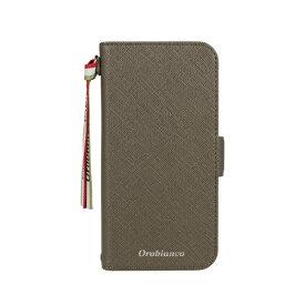 イングリウッド inglewood iPhone 12/12 Pro 6.1インチ対応サフィアーノ調PU Leather BookType Case Khaki