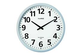 キングジム KING JIM 電波掛時計ザラ−ジ 省電力・防滴型 シルバー GDKB-001