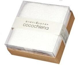 日繊商工 cocochiena ココチエナ ココキューブ バスタオル1Pギフト ホワイト