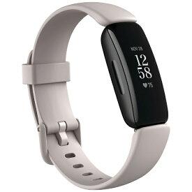Fitbit フィットビット FB418BKWT-FRCJK Fitbit Inspire2 フィットネストラッカー ルナホワイト L/Sサイズ ルナホワイト【ribi_rb】