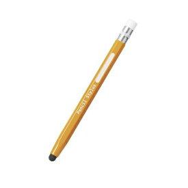 エレコム スマートフォン・タブレット用タッチペン 鉛筆型 シリコン イエロー P-TPENYL