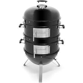 Barbecook バーベクック オスカーL 燻製器(H120×63×72cm/ブラック) 2239875000