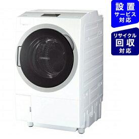 東芝 TOSHIBA ドラム式洗濯乾燥機 ZABOON(ザブーン) グランホワイト TW-127X9BKL-W [洗濯12.0kg /乾燥7.0kg /ヒートポンプ乾燥 /左開き]【point_rb】