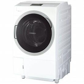 東芝 TOSHIBA ドラム式洗濯乾燥機 ZABOON(ザブーン) グランホワイト TW-127X9BKR-W [洗濯12.0kg /乾燥7.0kg /ヒートポンプ乾燥 /右開き]【point_rb】