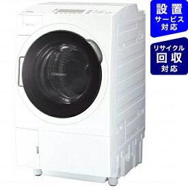 東芝 TOSHIBA ドラム式洗濯乾燥機 ZABOON(ザブーン) グランホワイト TW-117V9L-W [洗濯11.0kg /乾燥7.0kg /ヒートポンプ乾燥 /左開き]