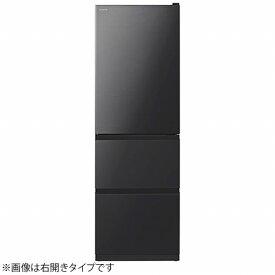 日立 HITACHI 《基本設置料金セット》冷蔵庫 Vタイプ ブリリアントブラック R-V38NVL-K [3ドア /左開きタイプ /375L]【zero_emi】