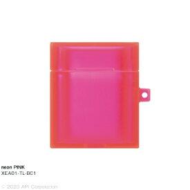アピロス apeiros AirPodsケース TILE neon EYLE ピンク XEA01-TL-B01