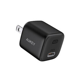 AUKEY オーキー AUKEY(オーキー) USB充電器 Omnia 20W PD対応 [USB-C 1ポート] ブラック AUKEY(オーキー) Black PA-B1-BK [USB Power Delivery対応]