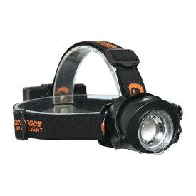 GOODGOODS グッド・グッズ ズーム機能付き 充電・乾電池ハイブリッド式LEDヘッドライト HL-50TR [LED /充電式 /防水]