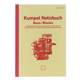 山口証券印刷 KPNB009 B6ノート Notizbuch ピンク 無地