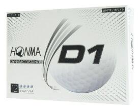 本間ゴルフ HONMA GOLF BT2001 ゴルフボール ホワイト [ディスタンス系]