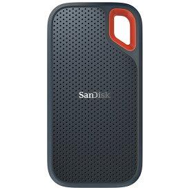 サンディスク SanDisk SDSSDE60-500G-J25 外付けSSD Extreme [500GB /ポータブル型][SDSSDE60500GJ25]