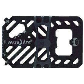 NITE IZE ナイトアイズ ファイナンシャルツールマルチツールウォレットII (58×90mm/ブラック) NI03967