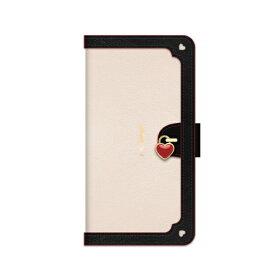 ナチュラルデザイン NATURAL design iPhoneSE2/iPhone8/7/6s/6手帳型ケース Heart Lock White iP7-HL04