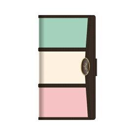 ナチュラルデザイン NATURAL design iPhoneSE2/iPhone8/7/6s/6手帳型ケース Layla Mint Pink iP7-LAY02
