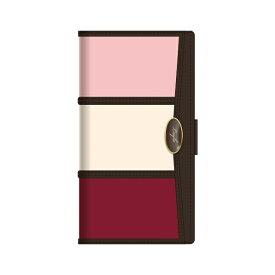 ナチュラルデザイン NATURAL design iPhoneSE2/iPhone8/7/6s/6手帳型ケース Layla Pink Red iP7-LAY04