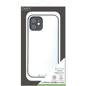 DEFF ディーフ iPhone 12/12 Pro 6.1インチ対応 HYBRID CASE Etanze / ハイブリットケース エタンゼ 化学強化ガラス&TPU複合素材ケース ワイヤレスチャージャー対応 ホワイト DCS-IPE20MWH