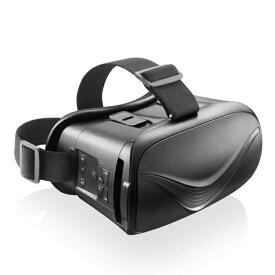 エレコム ELECOM VRゴーグル Bluetoothコントローラー一体型 ブラック ブラック VRG-BT02BK