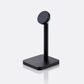 【2020年10月上旬】 エレコム スマホ用スタンド アルミスタンド マグネットタイプ ブラック P-DSMALBK