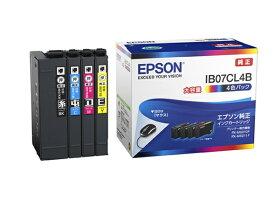 エプソン EPSON IB07CL4B 純正プリンターインク 4色パック大容量インク