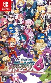【2021年01月28日発売】 日本一ソフトウェア Nippon Ichi Software 【予約特典付き】魔界戦記ディスガイア6 通常版【Switch】