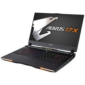 GIGABYTE ギガバイト AORUS17XXB-8JP6132MP ゲーミングノートパソコン AORUS 17X [17.3型 /intel Core i7 /SSD:512GB /メモリ:16GB /2020年10月モデル]