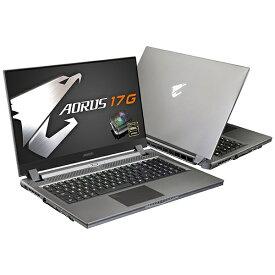 GIGABYTE ギガバイト ゲーミングノートパソコン AORUS 17G YB-8JP6150MH [17.3型 /intel Core i7 /SSD:1TB /メモリ:16GB /2020年10月モデル]