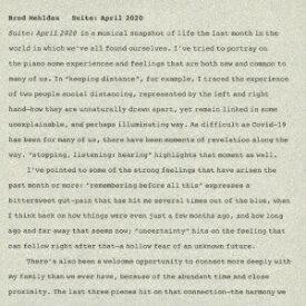 ソニーミュージックマーケティング ブラッド・メルドー/ 組曲:2020年4月【CD】