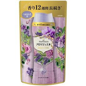 P&G ピーアンドジー Lenor(レノア) レノアハピネス アロマジュエル ラベンダーブーケの香り つめかえ用 455ml